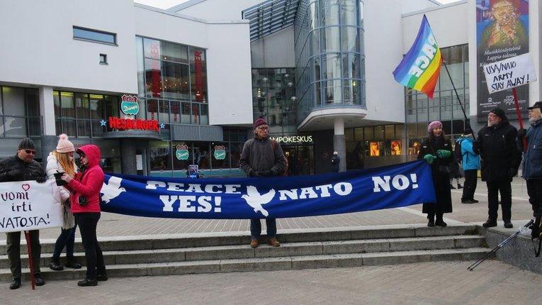Одна з урядових партій Фінляндії пропонує скасувати співпрацю з НАТО
