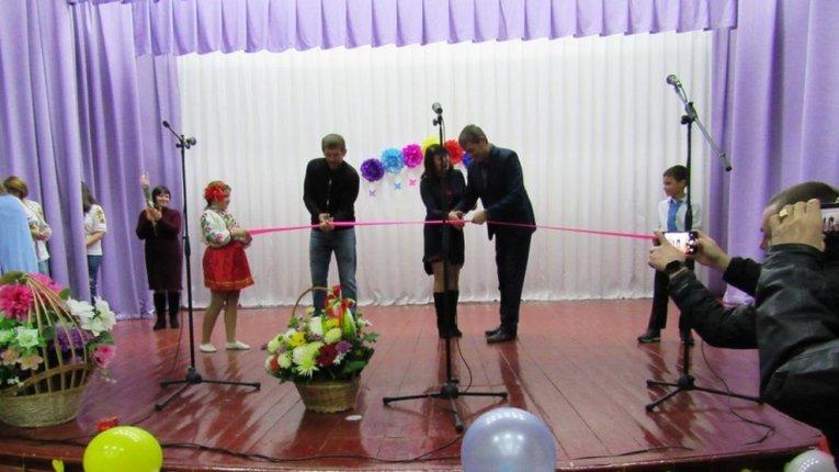 У Шишацькому районі відкрили оновлений сільський будинок культури