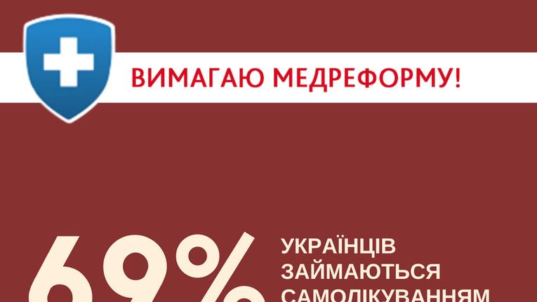 Через брак коштів, 69% українців займаються самолікуванням — Супрун