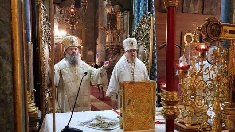 Запорізький митрополит, який називав Різдво 25 грудня «антиправославних святом», відзначив його у Будапешті