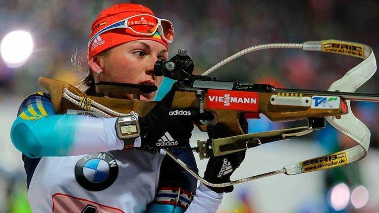 Українська біатлоністка претендує на статус чемпіонки Європи