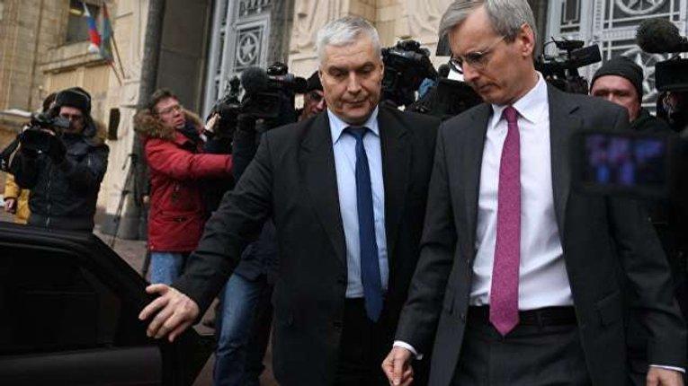Британський посол відмовився йти в МЗС Росії на зустріч у справі Скрипаля