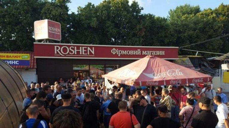 Бунт на кораблі – у Києві зносять «Roshen»