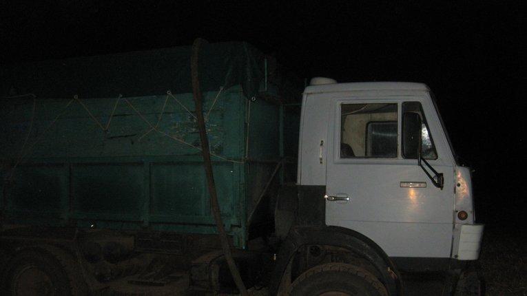 «Камаз» кондерів затримали у Лохвицькому районі