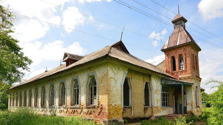 Українців закликали підтримати відновлення старовинної школи на Полтавщині