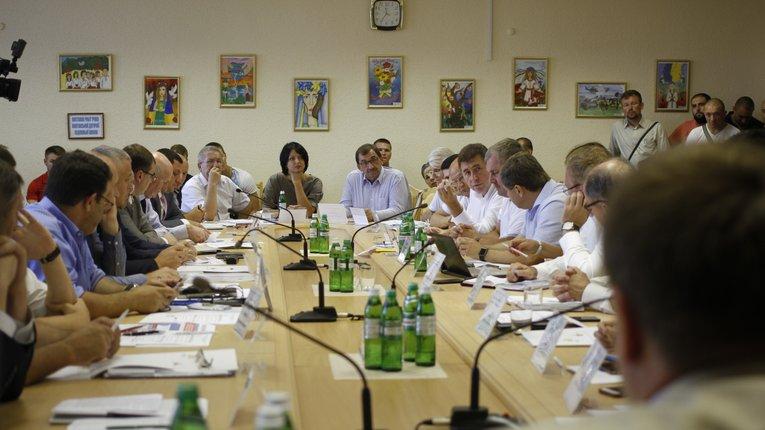 Нарощення видобутку газу на Полтавщині обговорили представники «Укргазвидобування» та посадовці