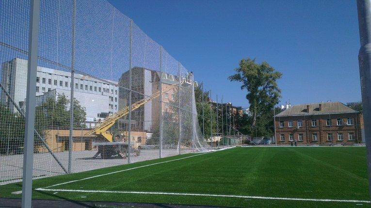 Оновлений стадіон «Динамо» в Полтаві відкриють напередодні Дня міста