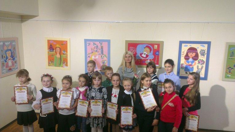 Полтавська школа мистецтв презентувала виставку дитячої творчості