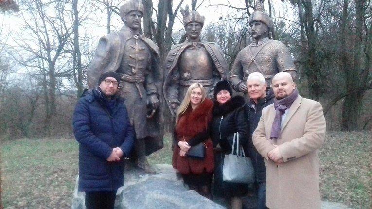Польська делегація у Гадячі