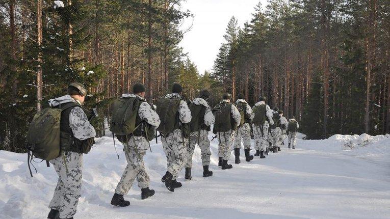 Військові навчання армії Фінляндії