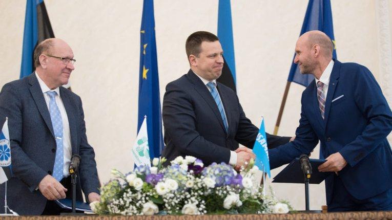 Лідери урядових партій Естонії