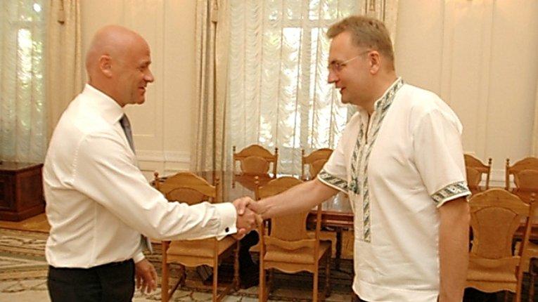 Зустріч Труханова та Садового