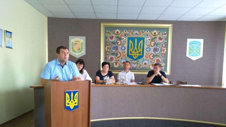 Засідання Решетилівської районної ради