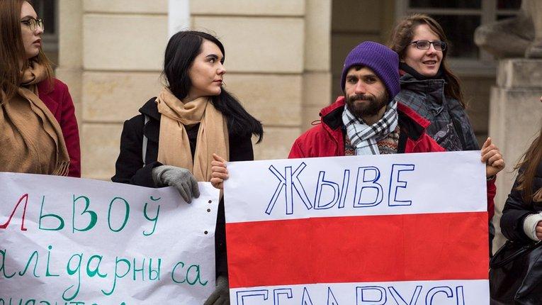 Акція протесту у Львові, 26.03.17