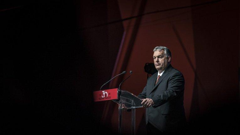 Виступ Віктора Орбана у бізнес-центрі CRAFT