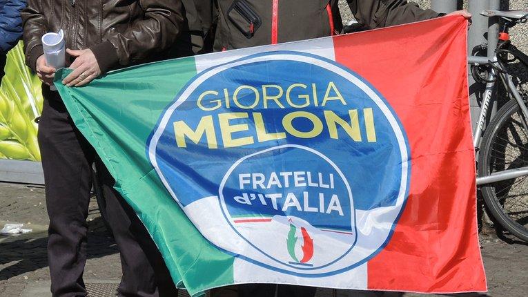 "Прапор партії ""Брати Італії"""