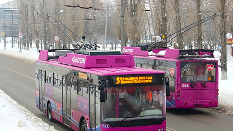 Кременчуцькі тролейбуси