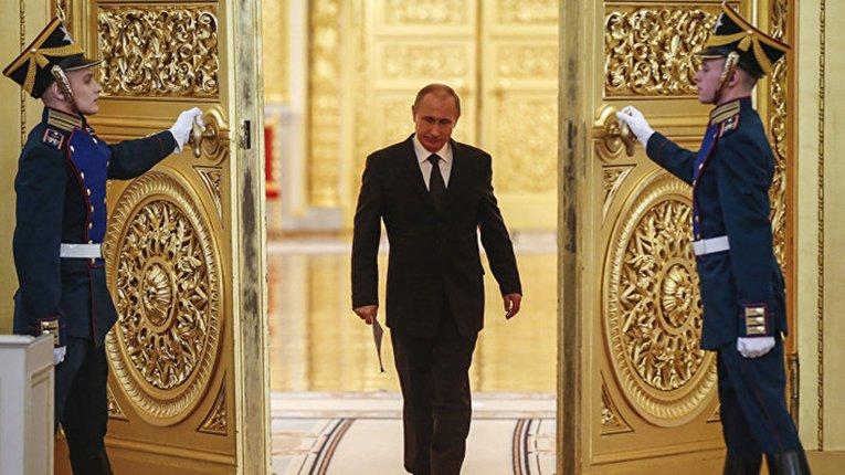 В. Путін у Кремлі