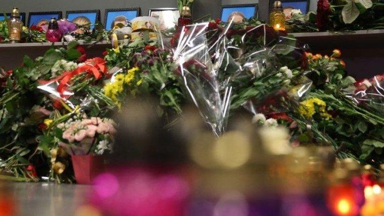 У Борисполі розпочалася церемонія прощання з загиблими в Ірані українцями
