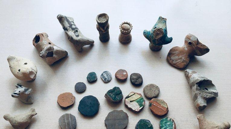 Іграшки козацької доби з Полтави