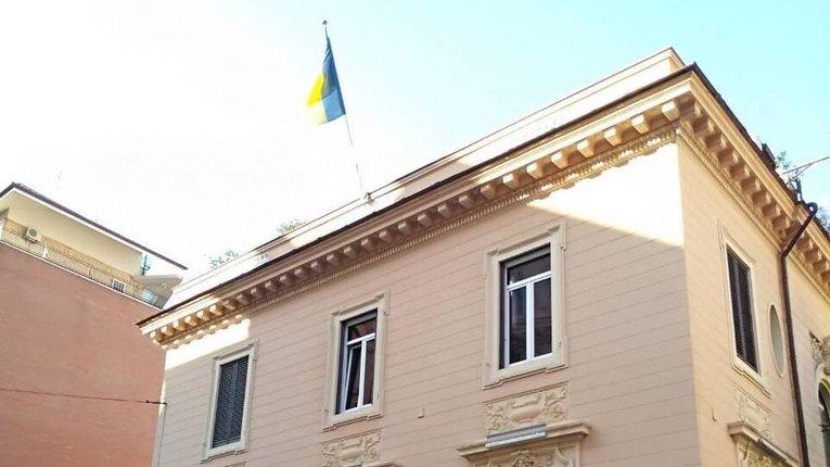 Будівля українського посольства в Італії