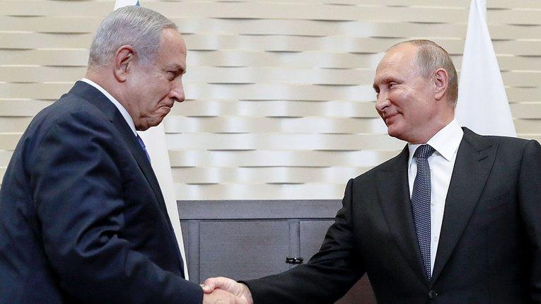Нетаньяху їде до Москви торгуватися з Путіним за загарбані Ізраїлем палестинські території
