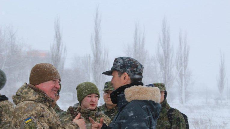 На Донбас прибули японські розвідники, які ознайомлюються з методами протидії РФ – штаб ООС