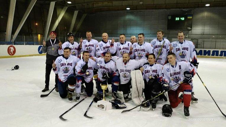 У Харківському чемпіонаті з хокею перемогла команда з Полтави