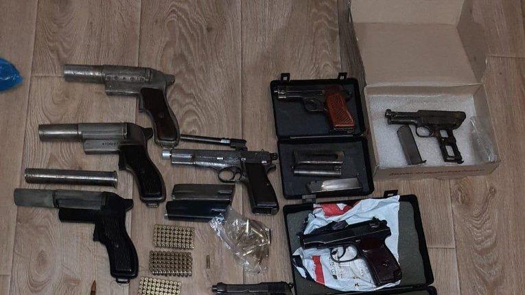 У співробітника ДСНС у Запорізькій області вилучено незаконний арсенал