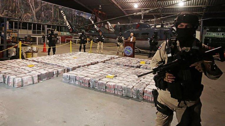 5 тонн кокаїну, що прямував до Нідерландів, виявлено в одному з портів Коста-Рики