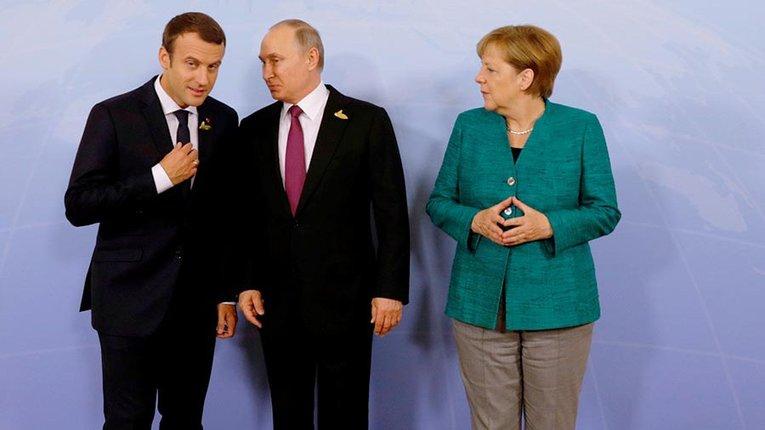 Україна опинилася у великій небезпеці через зближення НімеччинийФранції з РФ – Die Welt