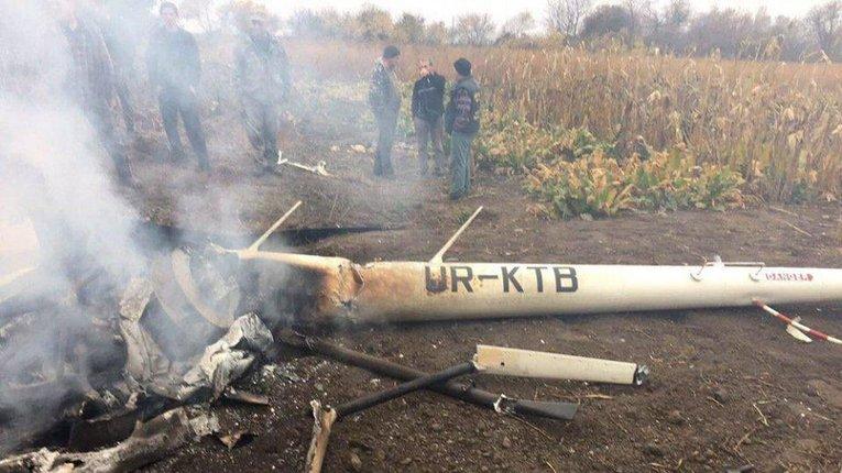 Розслідування встановило причину падіння гелікоптера на Полтавщині
