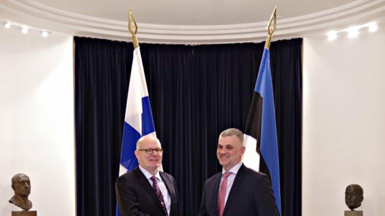 Міністри оборони Фінляндії та Естонії