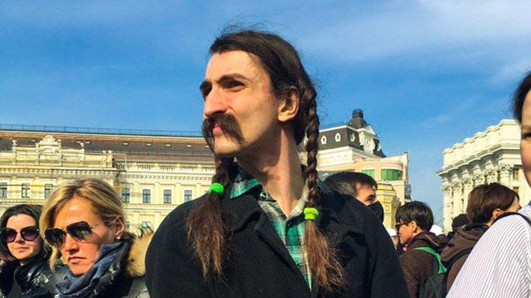 Учасник минулорічного Жіночого маршу у Києві