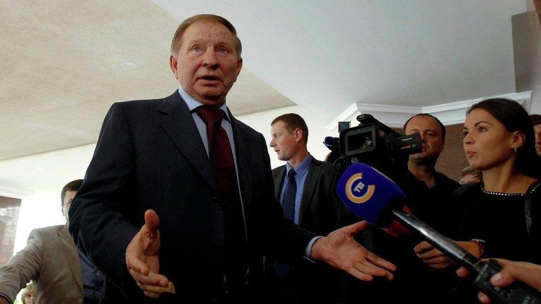 Представника України у ТКГ Леонід Кучма