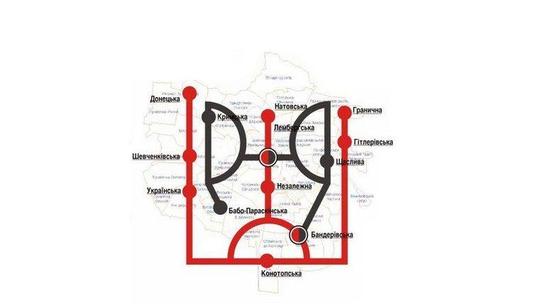 Російські ЗМІ повідомили про закриття львівського метро