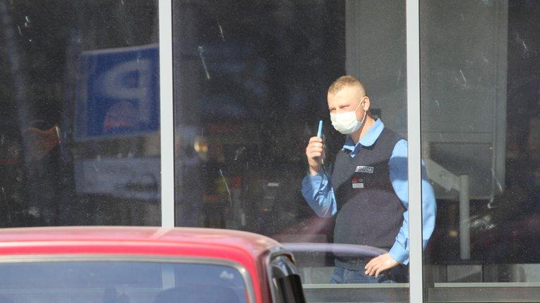 Усі працівники супермаркетів та інших торгових закладів мають бути в захисних масках