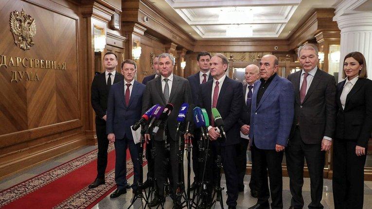 У «Слузі народу» заявили, що депутатів ОПЗЖ, які їздили до Москви, серйозні наслідки не чекають