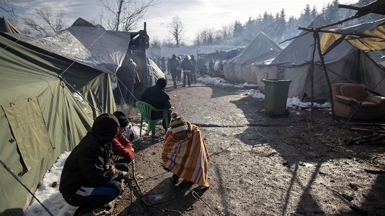 Конфлікт через табір для нелегалів виник у Боснії та Герцеговині
