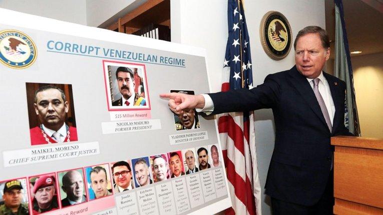 Правоохоронці США звинуватили венесуельський режим Ніколаса Мадуро у «наркотероризмі»