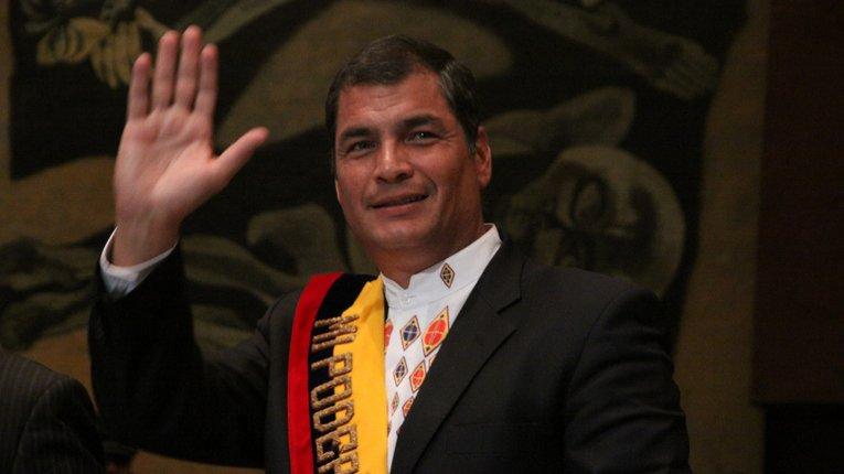 Рафаель Корреа — 45-й Президент Еквадору