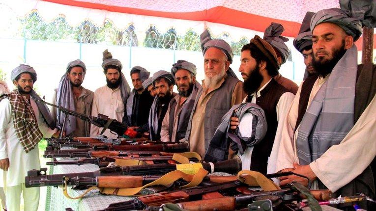 """Бійці угрупування """"Талібан"""""""