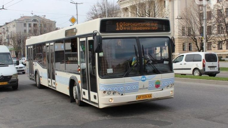 У Запоріжжі припинить рух низка маршрутів громадського транспорту міста