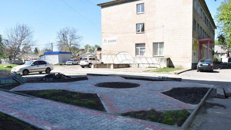 Новий громадський простір для відпочинку містян створили у Пирятині