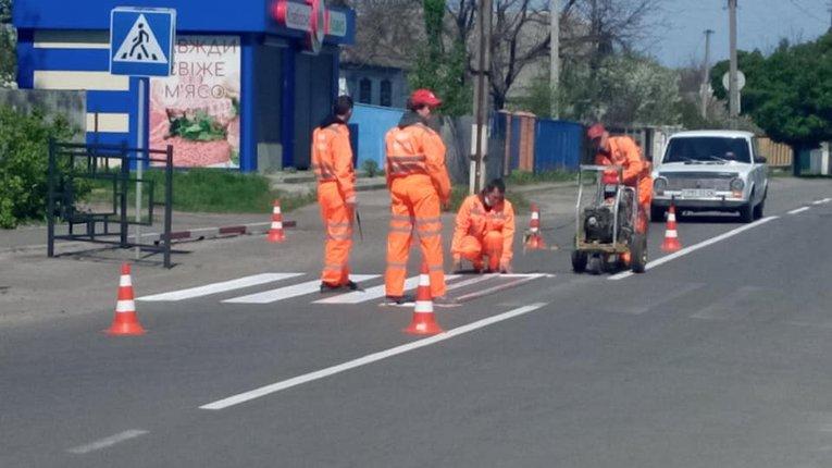 Влада Решетилівки убезпечує дорожній рух для містян