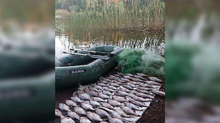 На Кременчуцькому водосховищі виявлено порушника нерестової заборони
