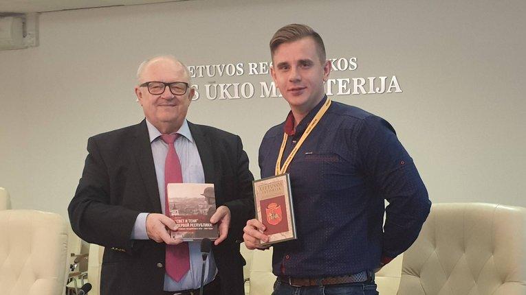 Президент Литви подякував історику з Херсона за зміцнення двосторонніх відносин