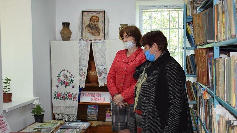 У Великобагачанському районі поновили роботу сільські бібліотеки