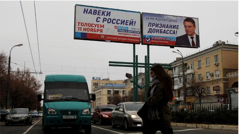 Україна продемонструвала російські паспорти ватажка «ДНР» і «представників» ОРДЛО в ТКГ