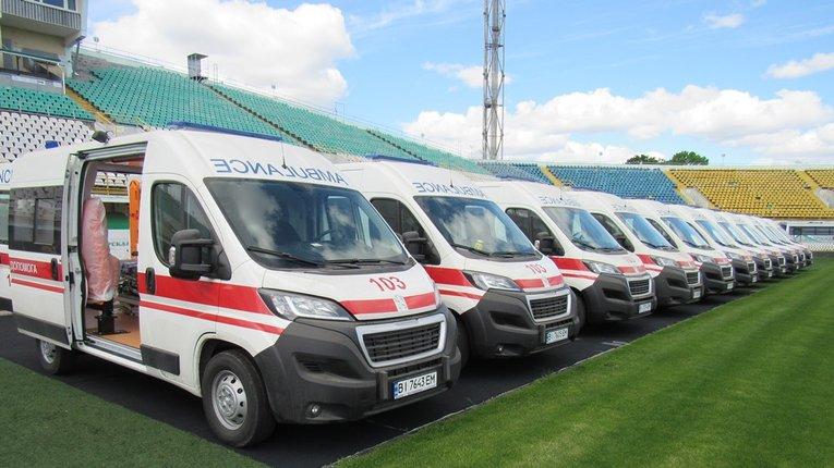 Диканський район отримав новий автомобіль швидкої допомоги